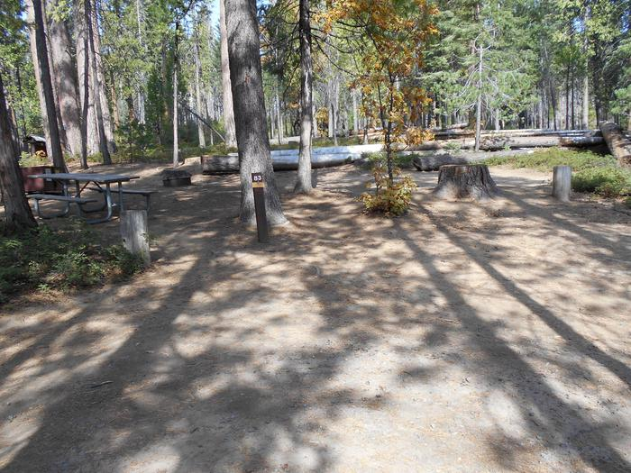 Hodgdon Meadow CampgroundSite 083