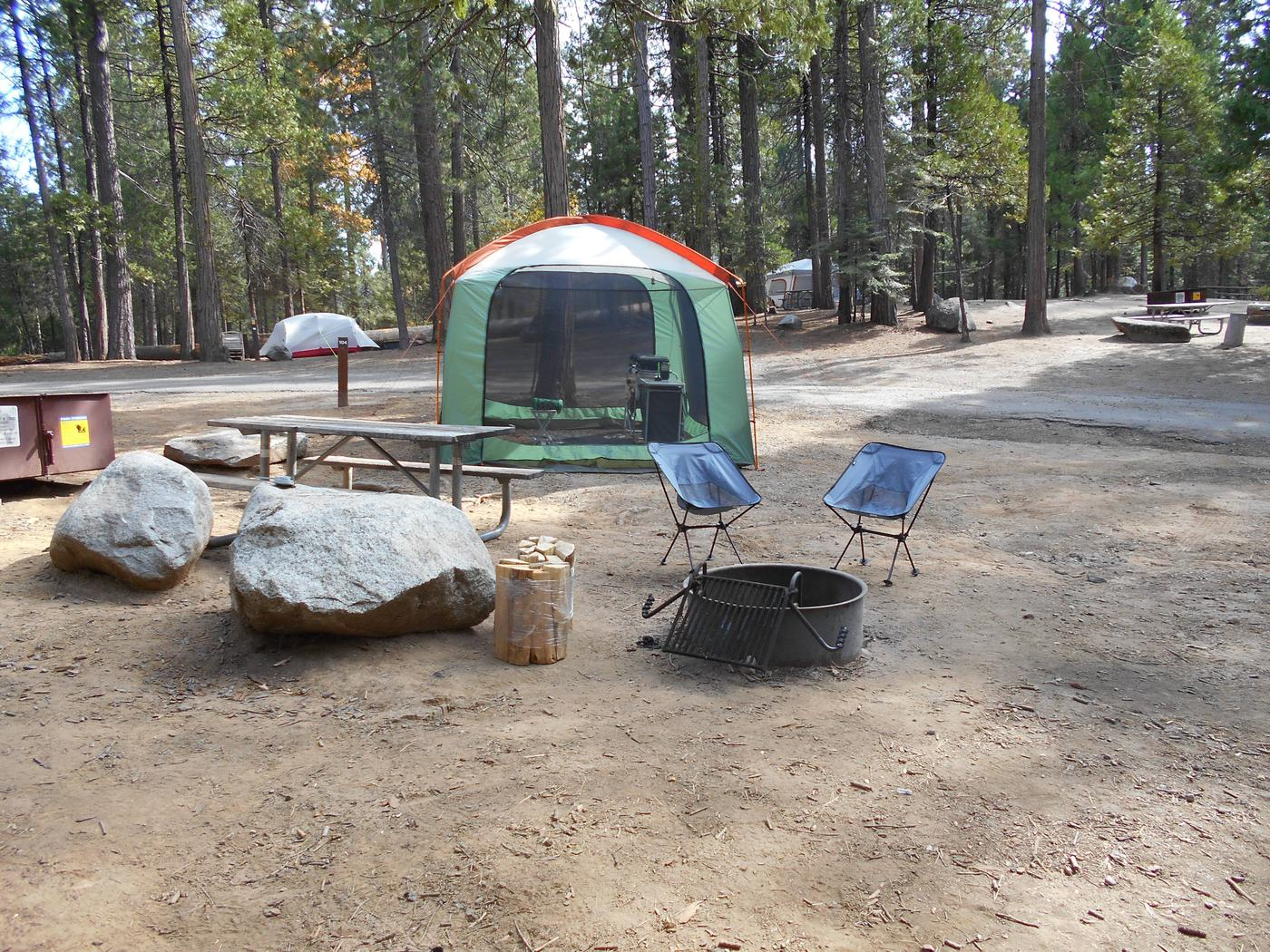Hodgdon Meadow CampgroundSite 104