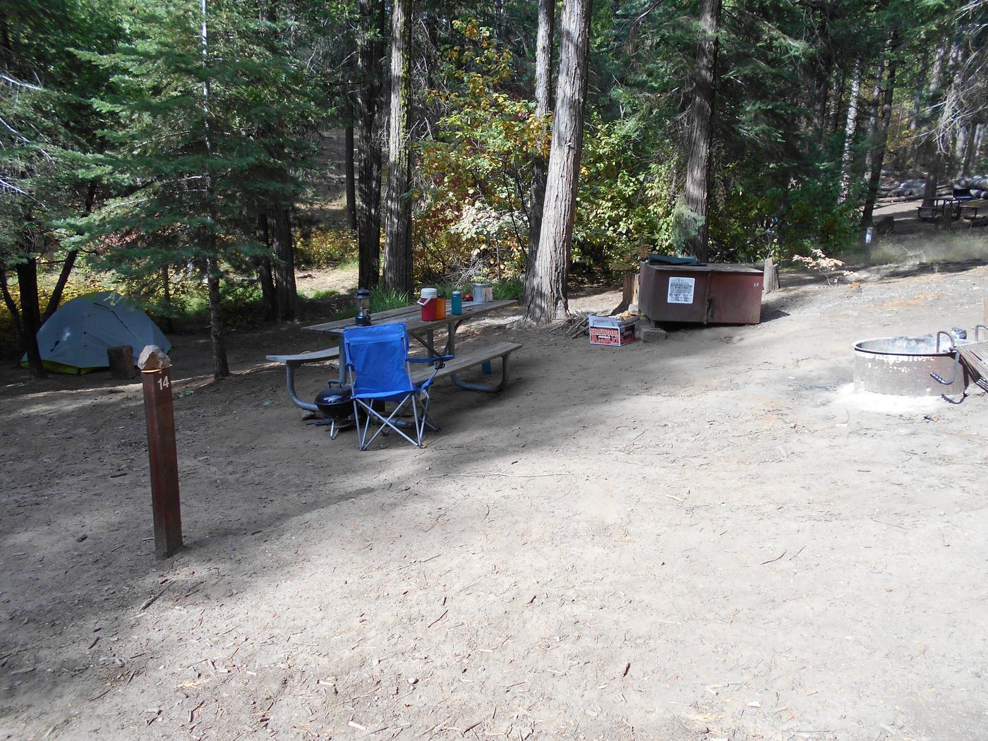 Hodgdon Meadow CampgroundSite 014