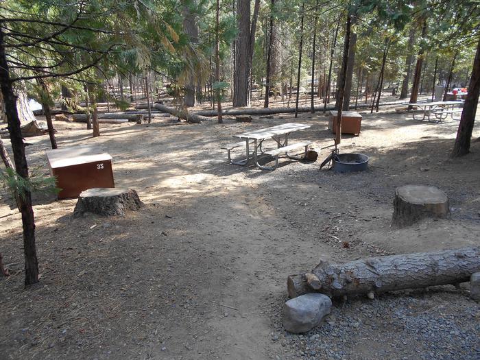 Hodgdon Meadow CampgroundSite 035
