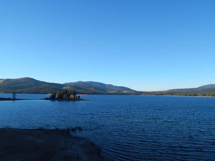 View of Stampede Reservoir