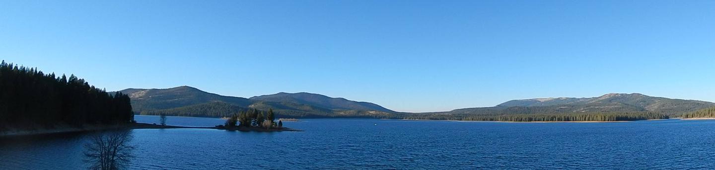 View of Stampede ReservoirStampede Reservoir