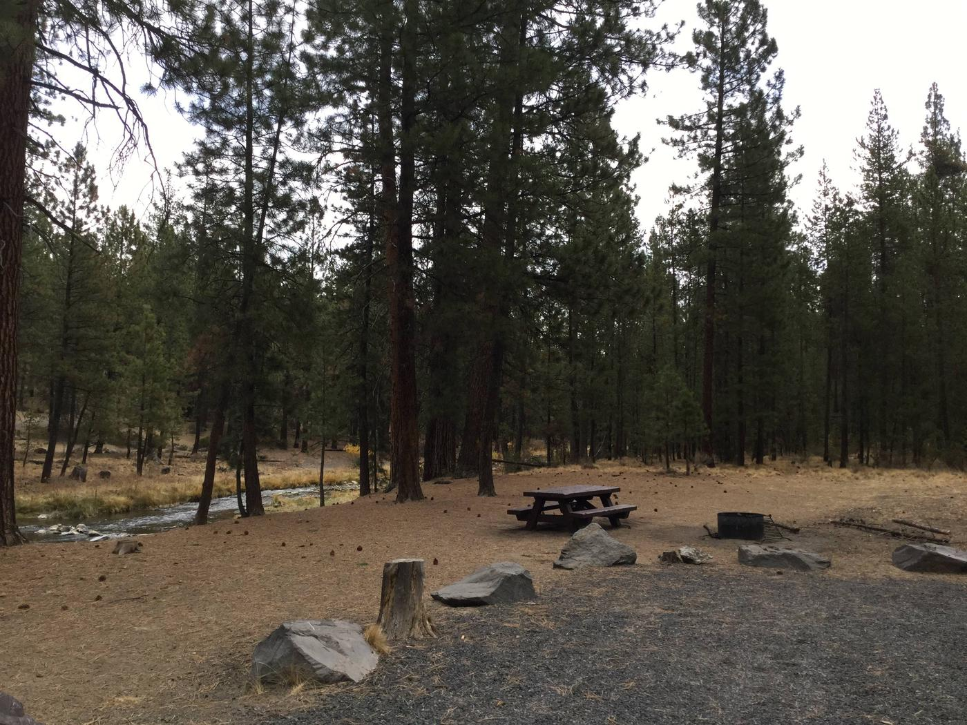 Site 6McKay Crossing Campground