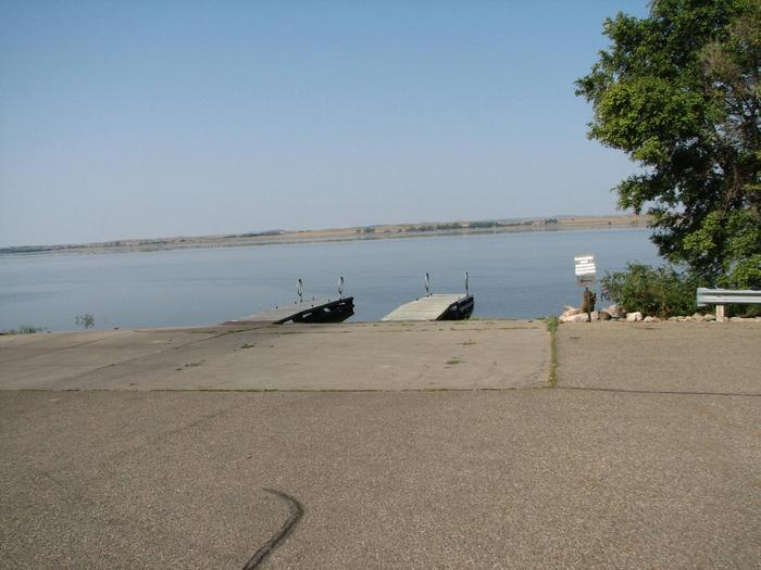 Hazelton Recreation Area Boat Ramp3 lane boat ramp with 2 boat docks.