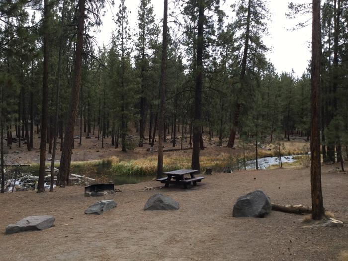 Site 8McKay Crossing Campground
