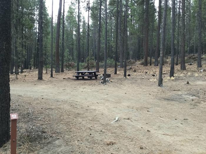 Site 12McKay Crossing Campground