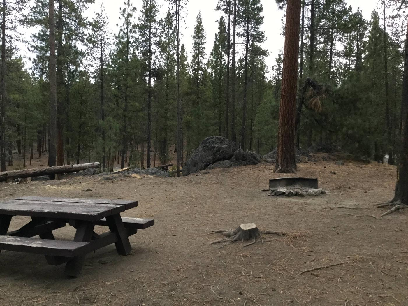Site 15McKay Crossing Campground