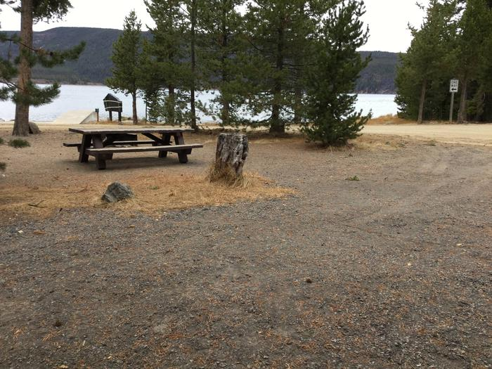 Site 1East Lake Campground