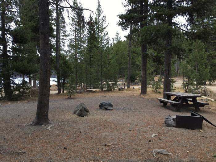Site 3East Lake Campground