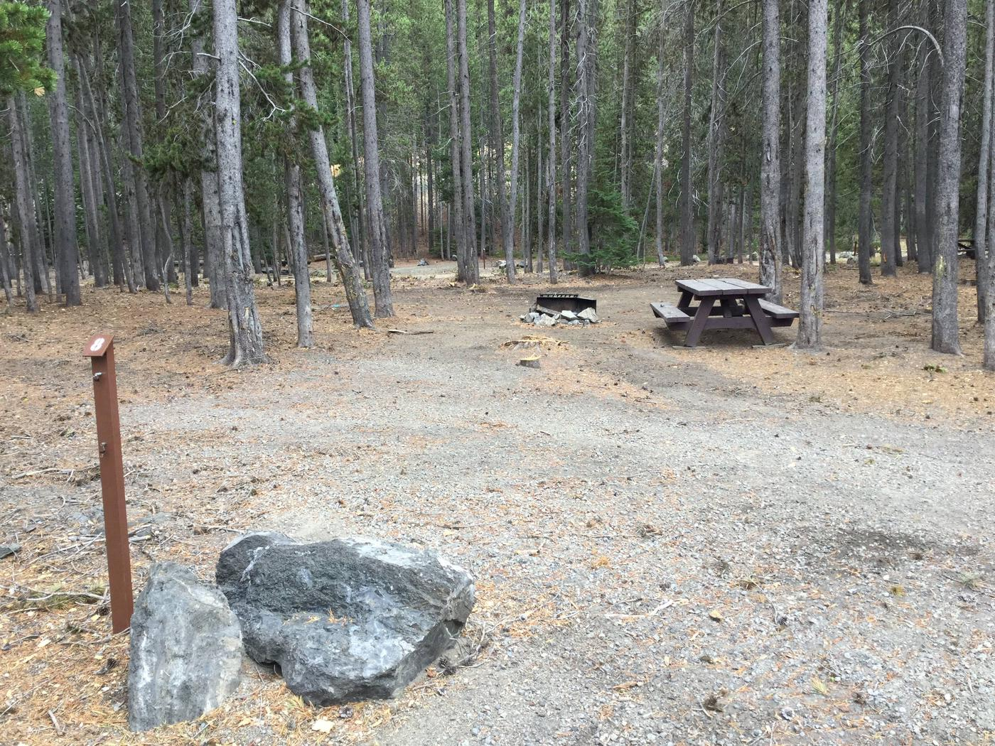 Site 8East Lake Campground