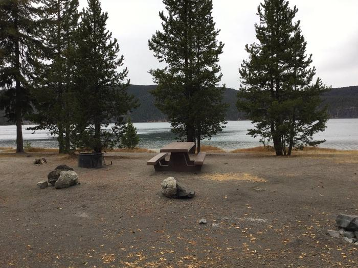 Site 9East Lake Campground
