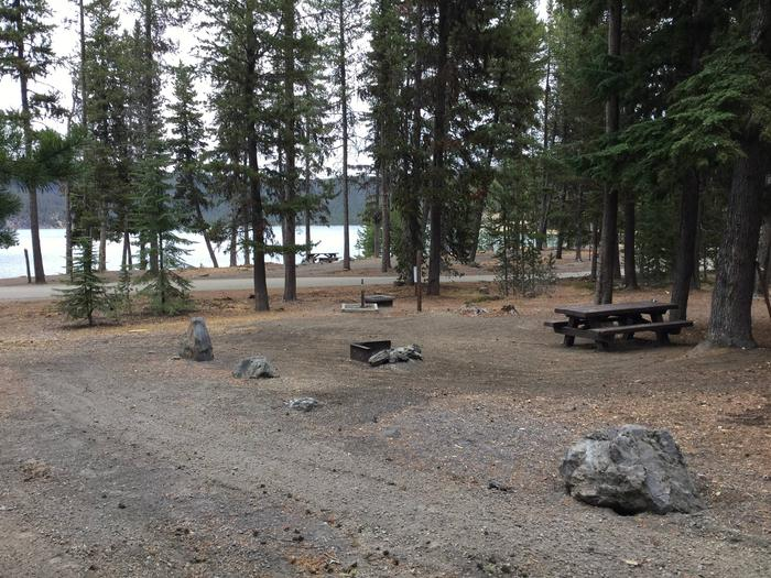 Site 15East Lake Campground