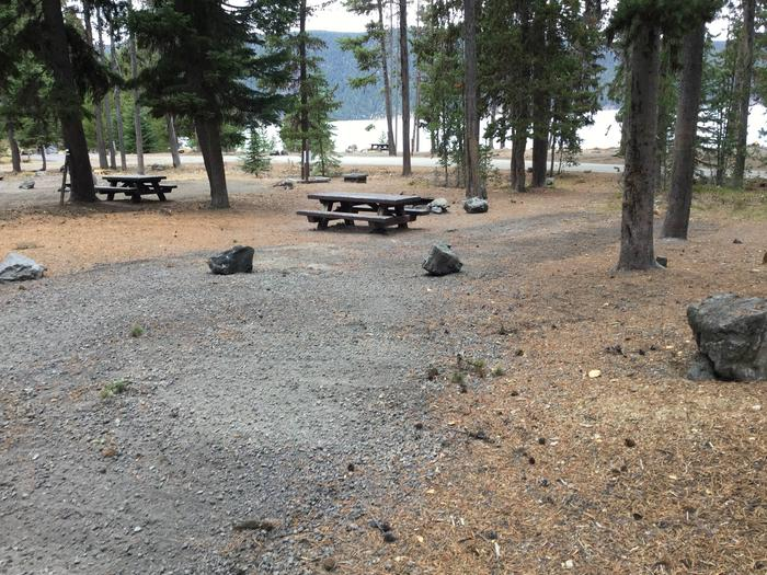 Site 16East Lake Campground