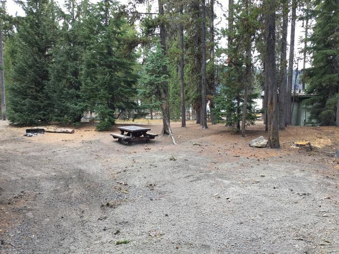 Site 18East Lake Campground
