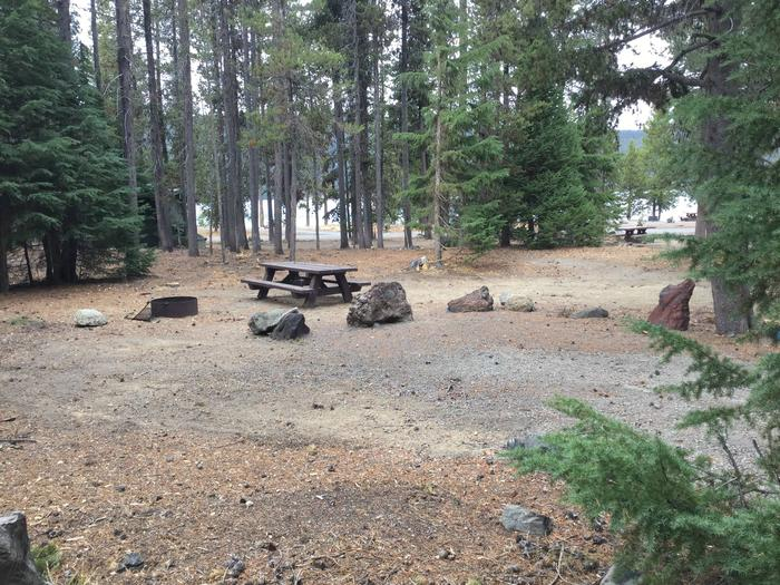 Site 19East Lake Campground