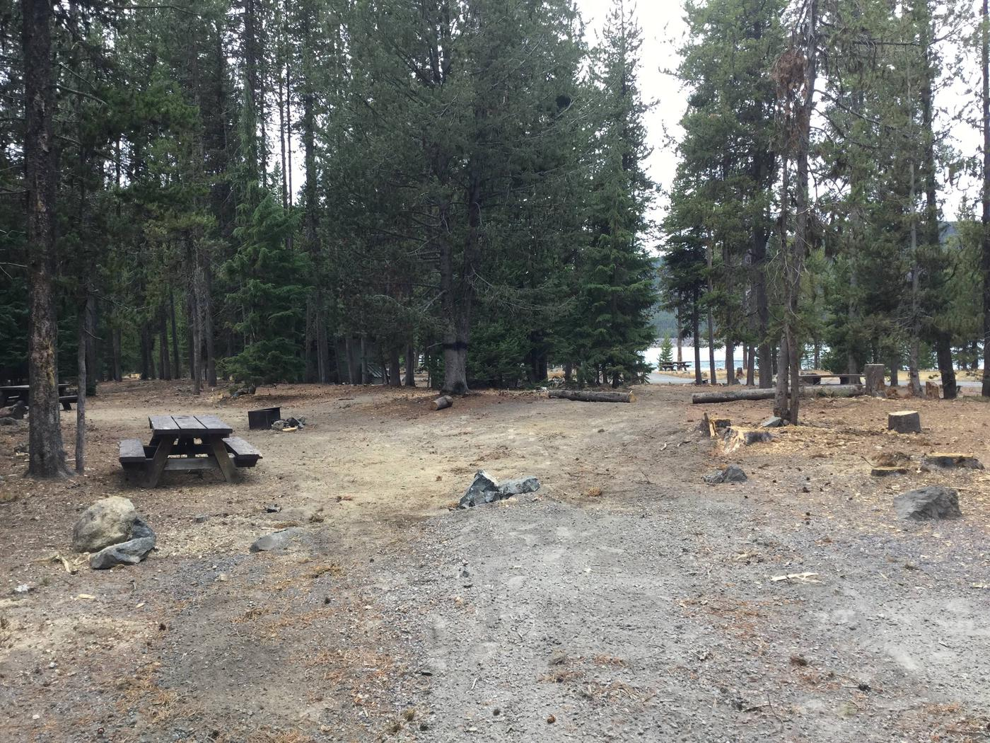 Site 20East Lake Campground
