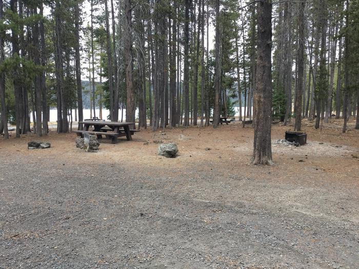 Site 21East Lake Campground