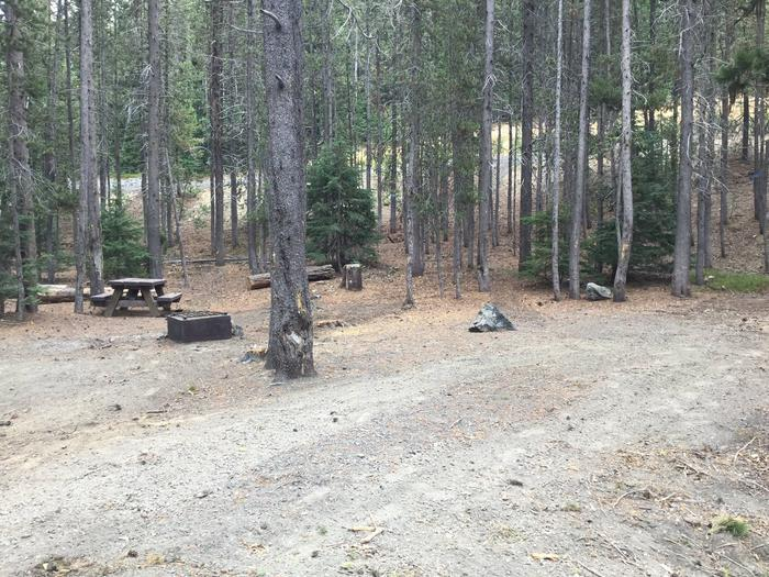 Site 22East Lake Campground