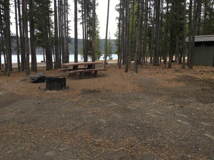 Site 23East Lake Campground