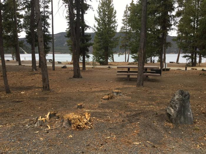 Site 24East Lake Campground