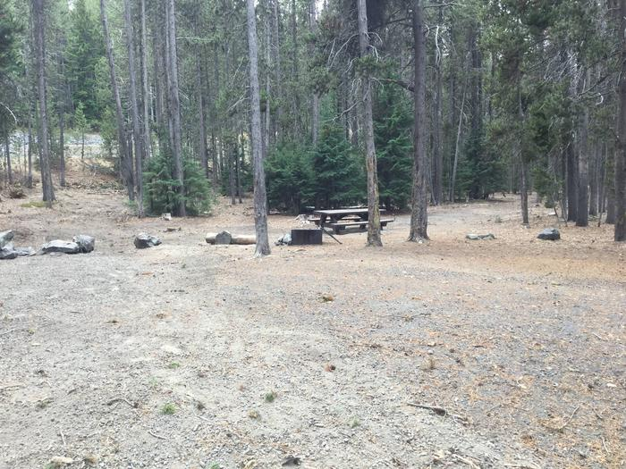 Site 25East Lake Campground