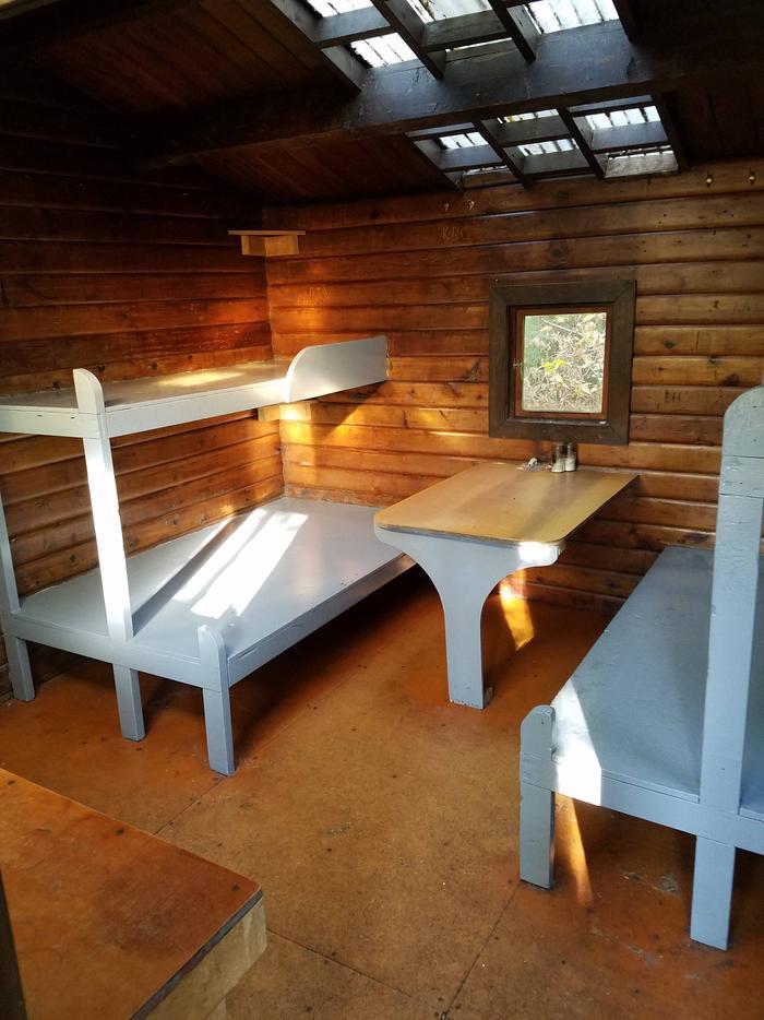 Staney Creek CabinStaney Creek Cabin Interior