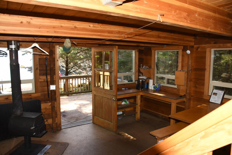 Point Amargura CabinPoint Amargura Cabin Interior