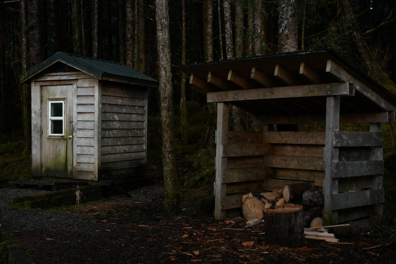 Twelvemile CabinBehind Twelvemile Cabin