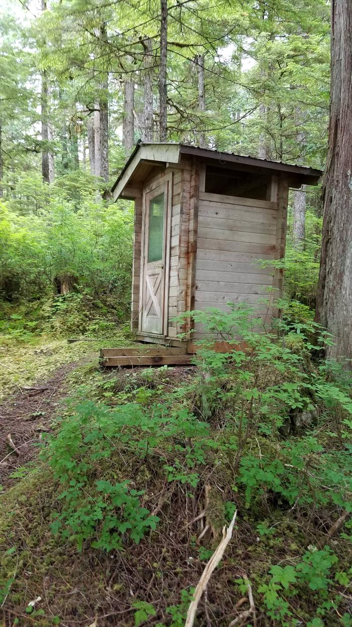 Honker Lake CabinHonker Lake Cabin Outhouse