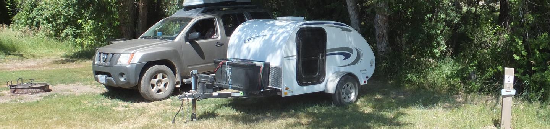 Hellgate Campground - Campsite 3