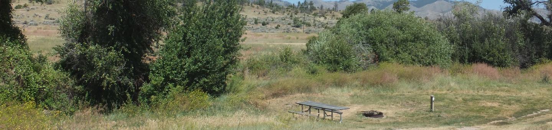 Hellgate Campground - Campsite 8