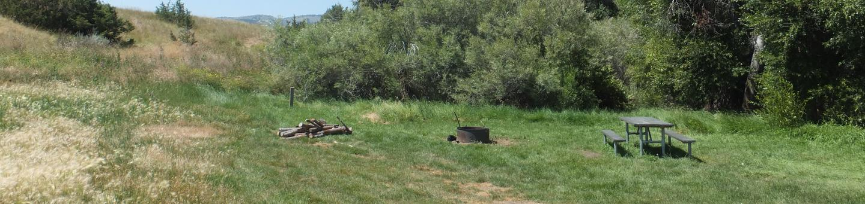Hellgate Campground - Campsite 10