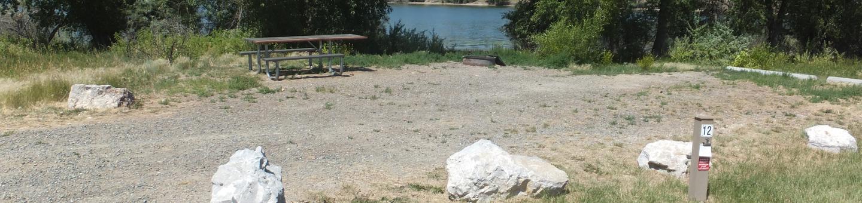 Hellgate Campground - Campsite 12