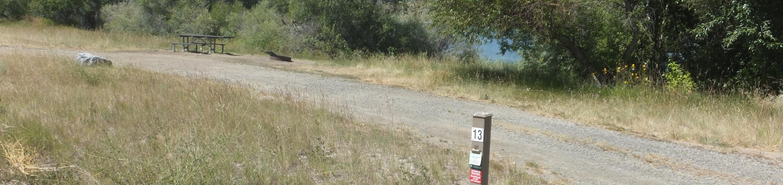 Hellgate Campground - Campsite 13