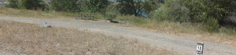 Hellgate Campground - Campsite 18