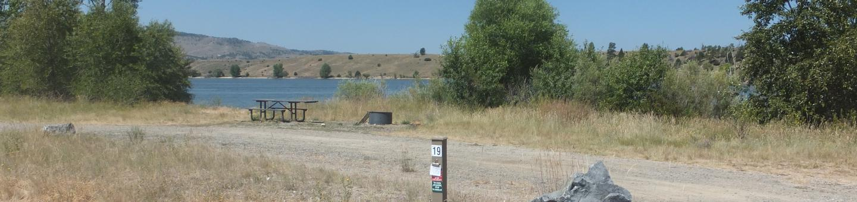 Hellgate Campground - Campsite 19