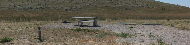 White Earth Campground - Campsite 3