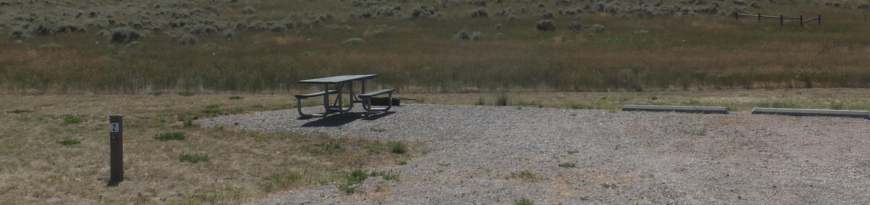 White Earth Campground - Campsite 2