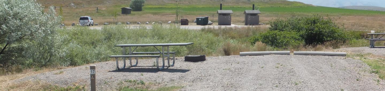 White Earth Campground - Campsite 17Campsite 17