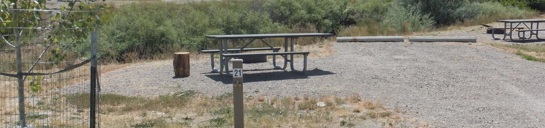White Earth Campground - Campsite 21