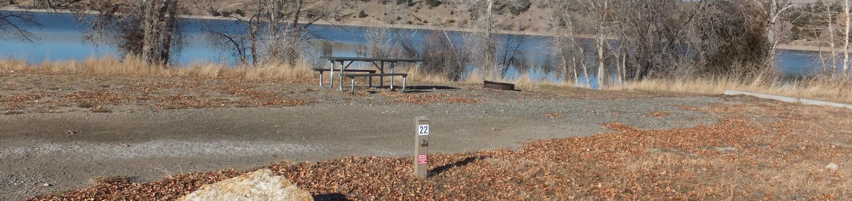 Hellgate Campground - campsite 22