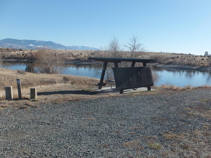 Hellgate Campground - campsite 64