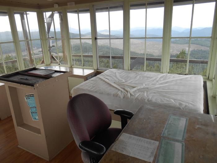 Interior with a viewPICKETT BUTTE LOOKOUT