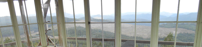 PICKETT BUTTE LOOKOUTPickett Butte views