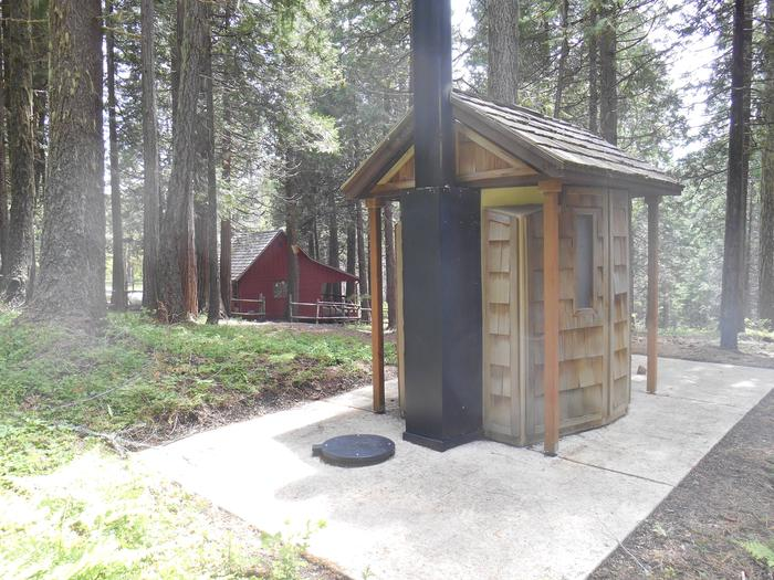 WHISKY CAMP GUARD STATIONWhisky Camp exterior/toilet