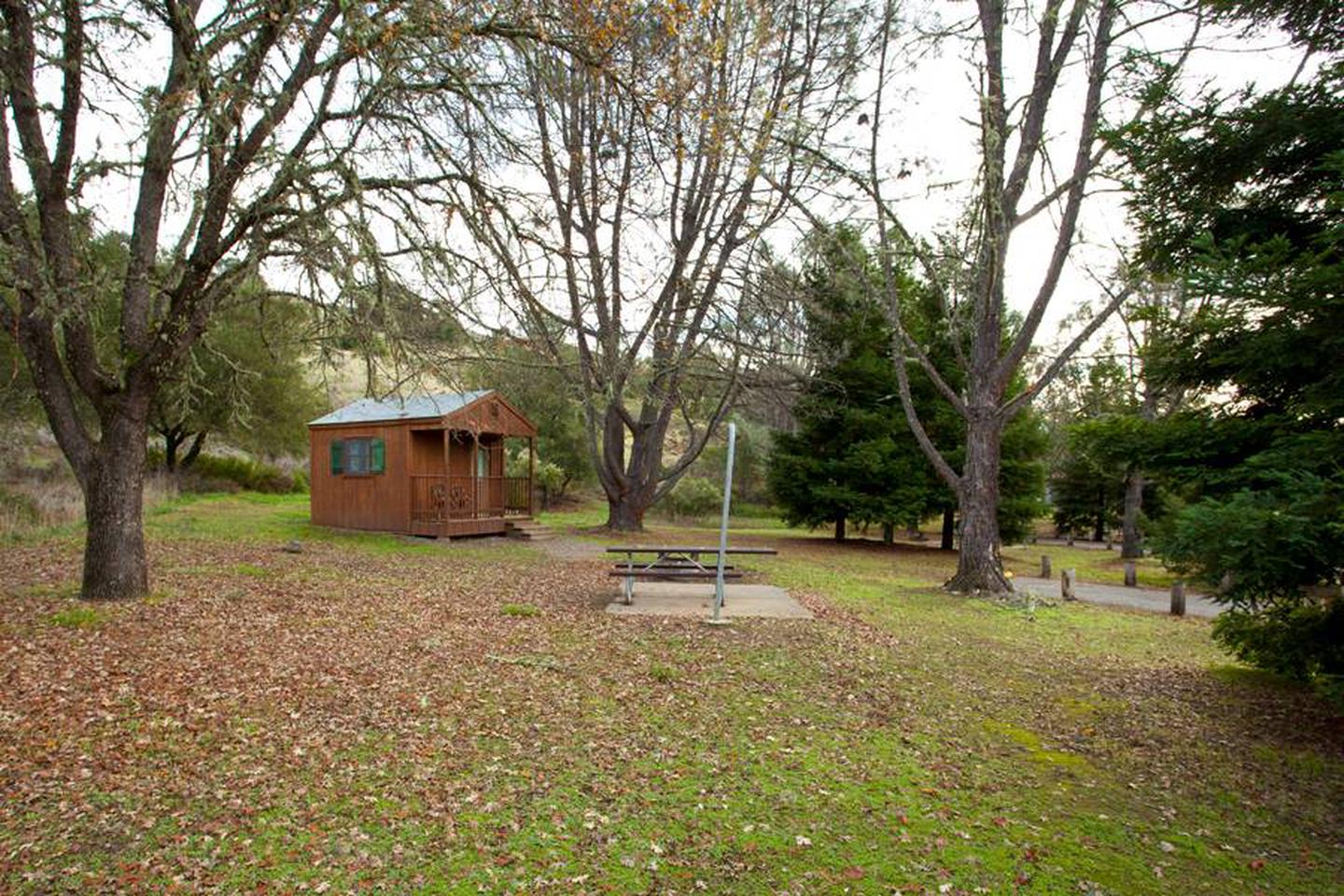 Alt view of cabin sitecabin site #27