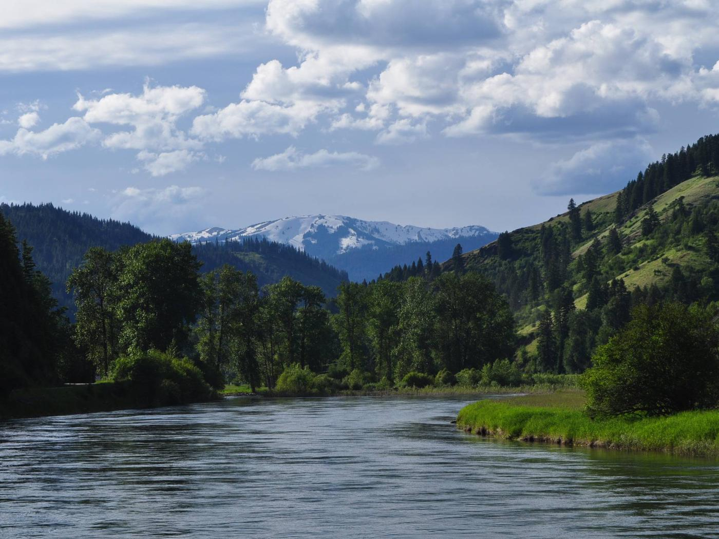 St Joe River, Idaho Panhandle National Forests