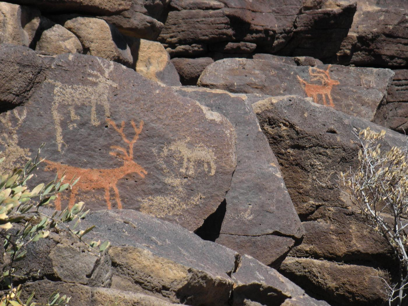 Pictographs, Agua Fria National Monument