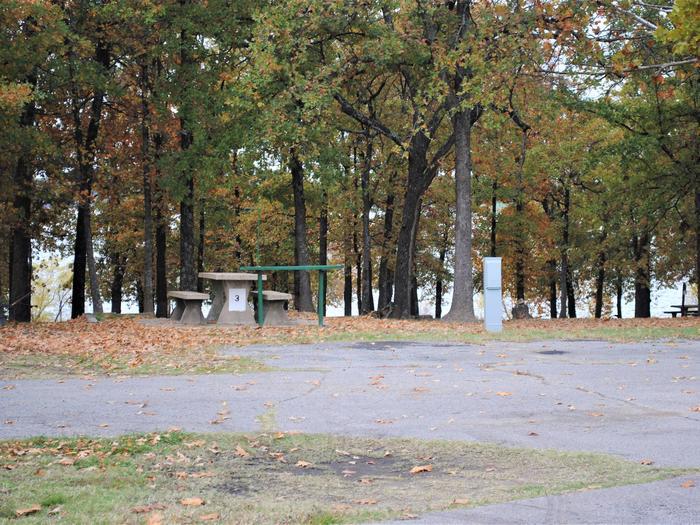 Hwy 9 North Campsite #3Campsite N03