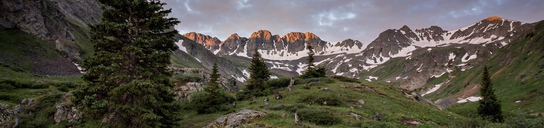 American Basin along the Alpine Loop